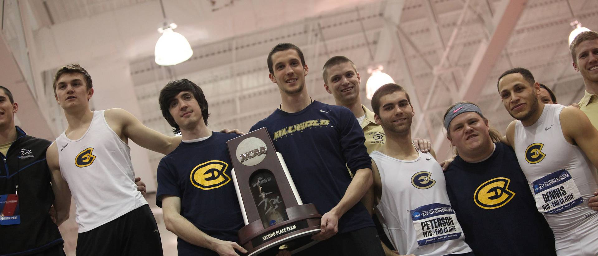 The men's indoor track & field team took second place at the NCAA Division III championship, tying its best finish in program history.