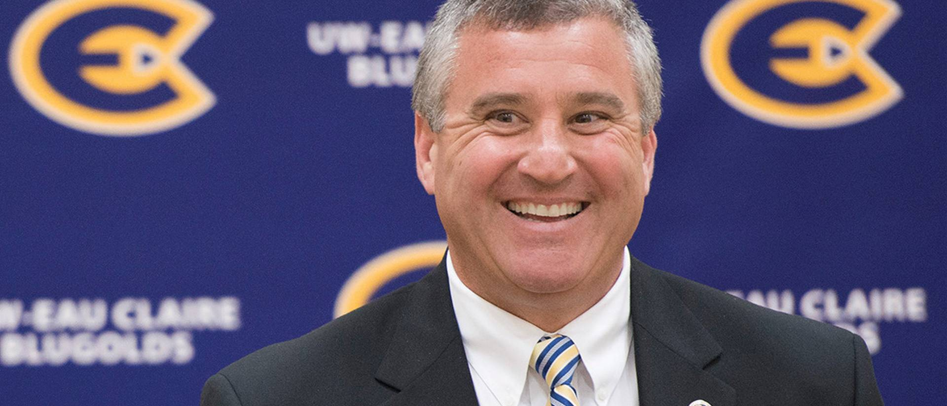 Dan Schumacher was named UW-Eau Claire's new director of athletics in May.