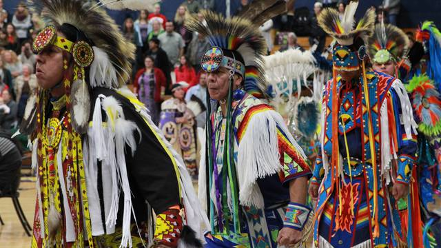 Image from 2014 Honoring Education Powwow