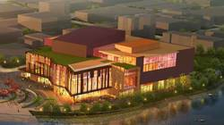 Artist's rendering of Confluence Arts Center