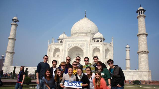 Blugolds abroad
