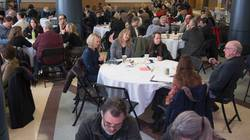 Faculty and staff in strategic planning session
