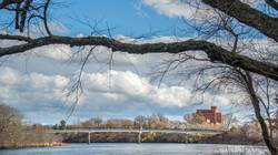 UW-Eau Claire footbridge