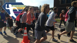 Students run at the annual Keep on Chuckin' 5K