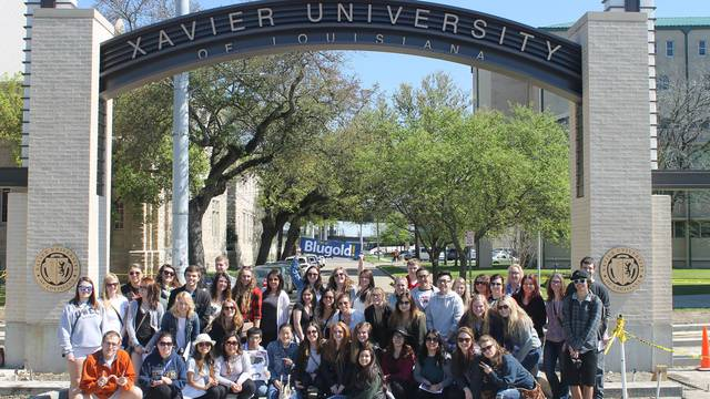 About 50 Blugolds explored the diverse regions of Louisiana during spring break as part of an immersion program.