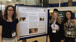 student researchers at 2016 National Conference on Undergraduate Research