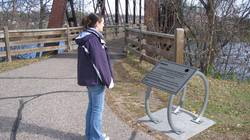 The Eau Claire Planet Walk created by Dr. Paul Thomas