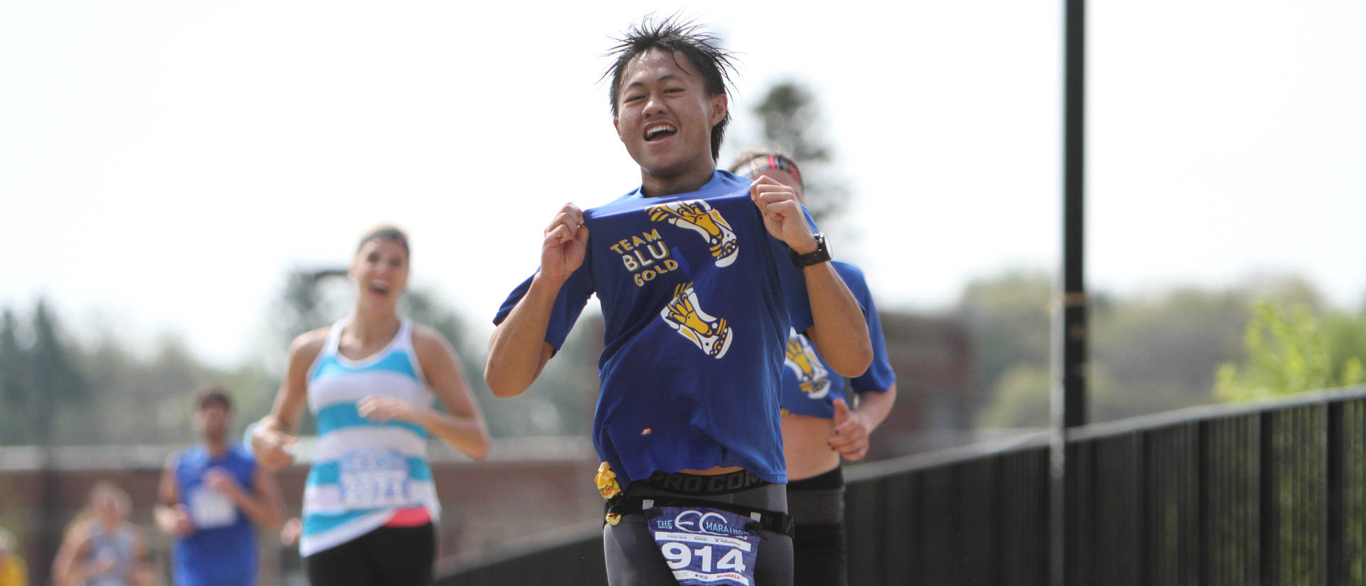 Blugold Mile fun motivates marathoners to finish strong ...
