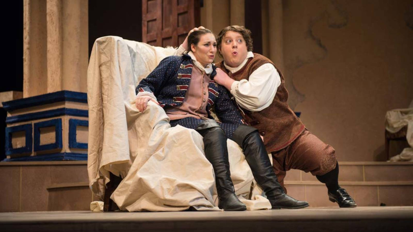 Scene in The Marriage of Figaro.