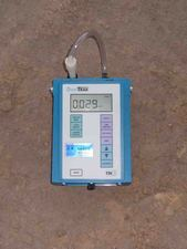 5-minute dust sample at construction site