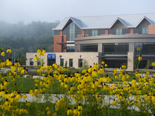 Davies Center and campus mall