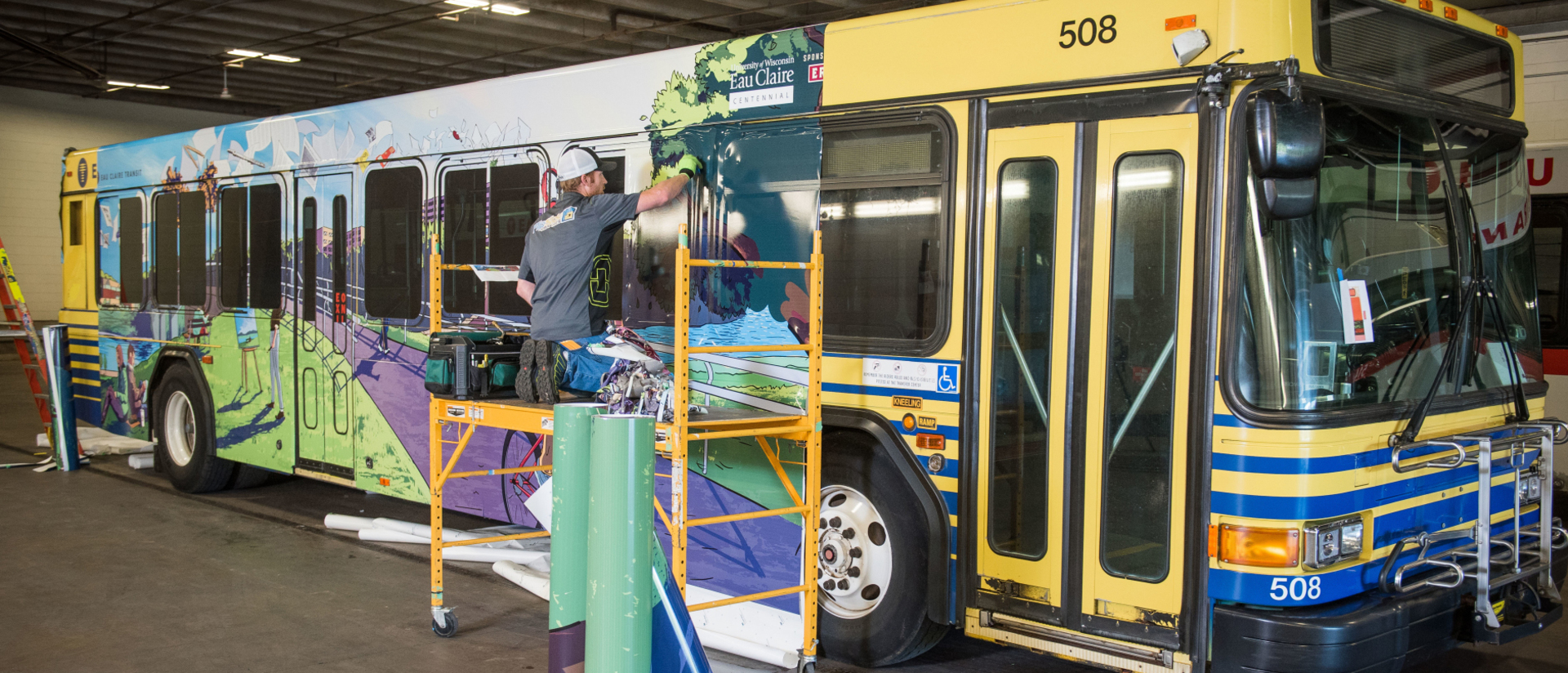 Centennial Celebration bus project