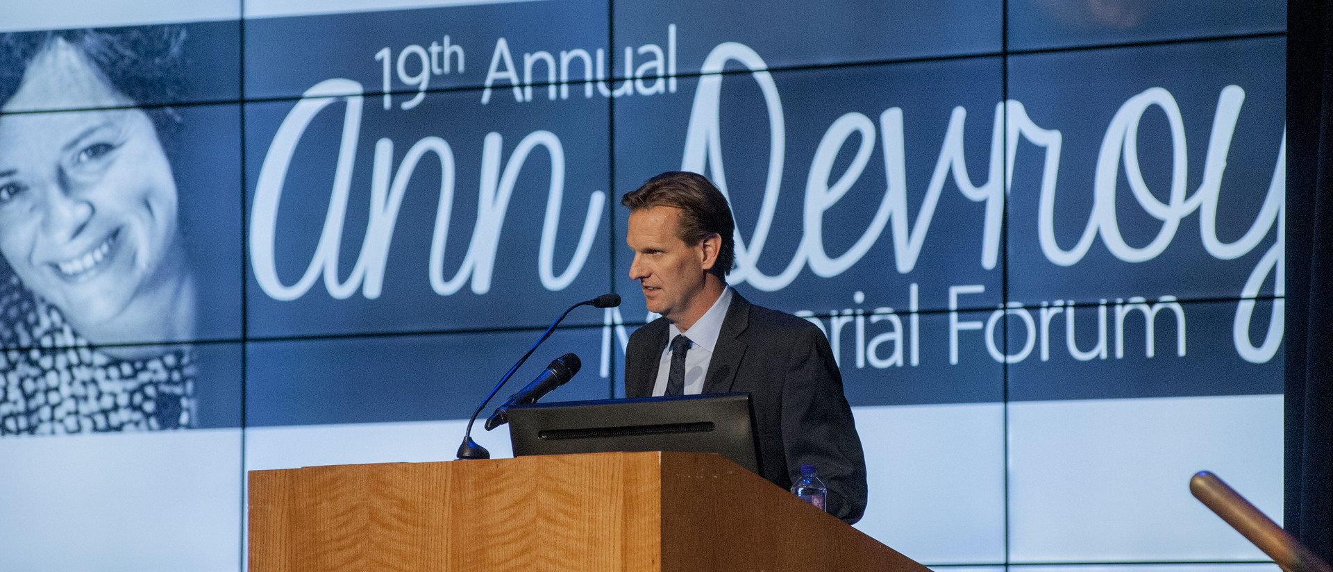 Scott Wilson - 2014 Ann Devroy Presenter