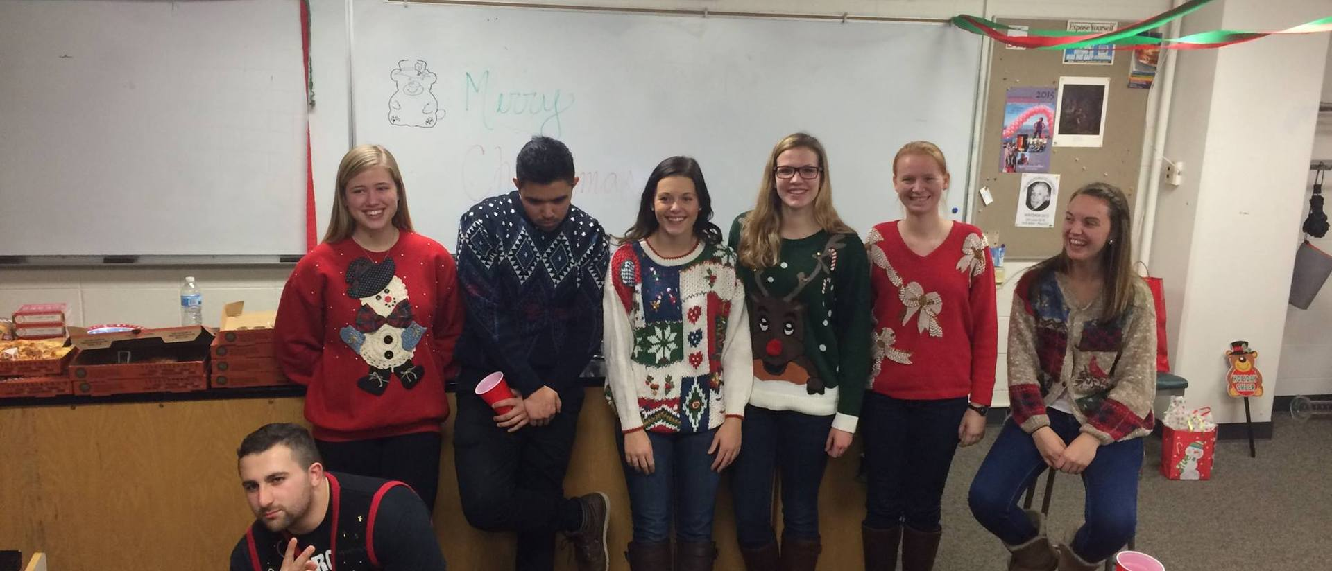 Chemistry and Christmas sweaters