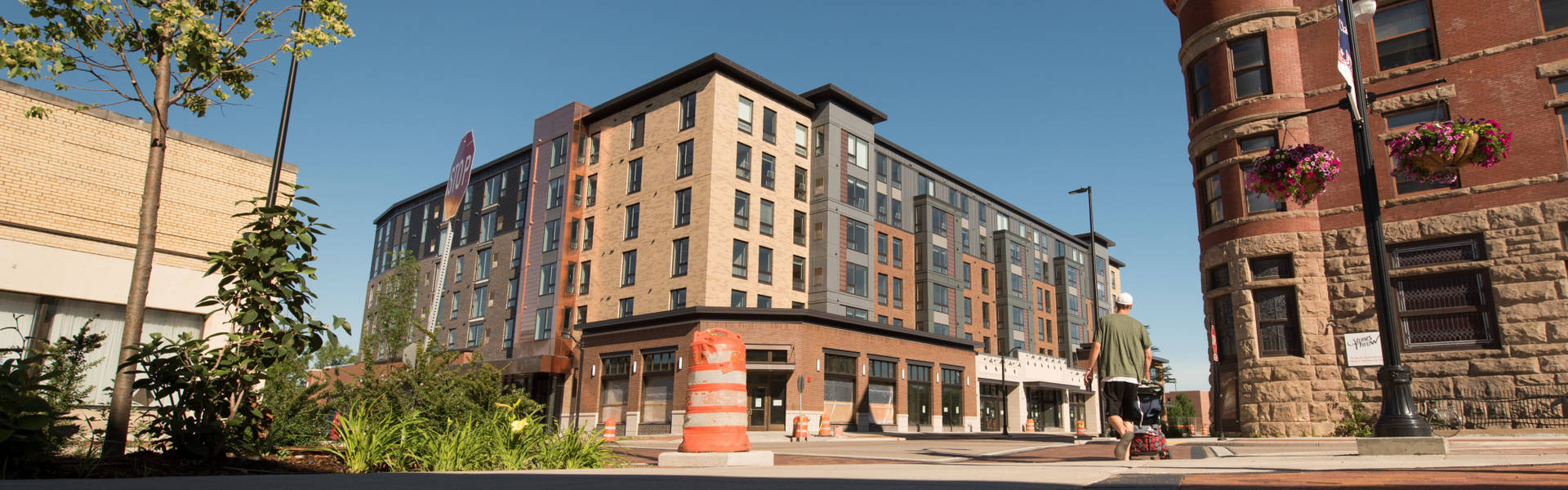Haymarket Landing in the heart of downtown Eau Claire