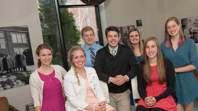 2015 Biology Scholarship Recipients