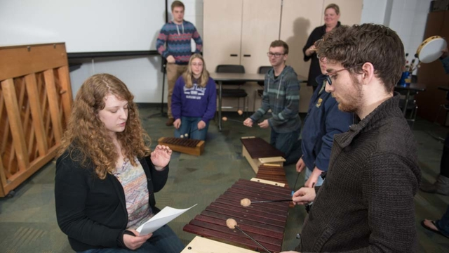 Music education going on at UW-Eau Claire