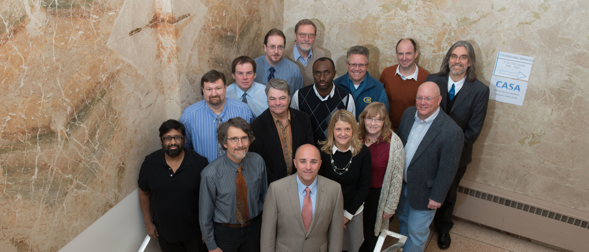 Dep. of Geography and Anthropology faculty.
