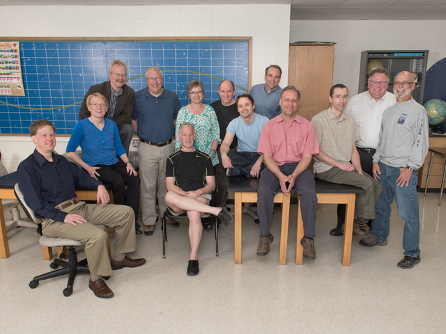 Physics and astronomy faculty