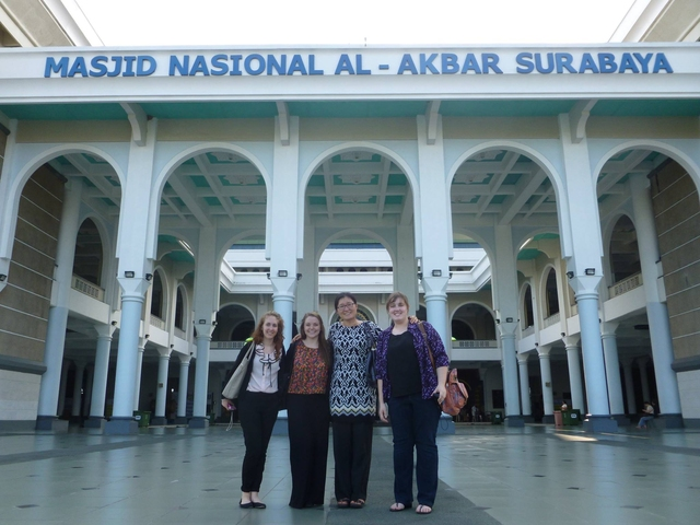 Students go abroad for research