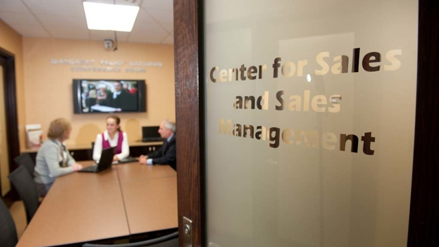 Center for Sales and Sales Management
