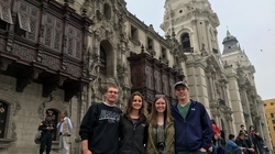 Peru partnership students in Lima
