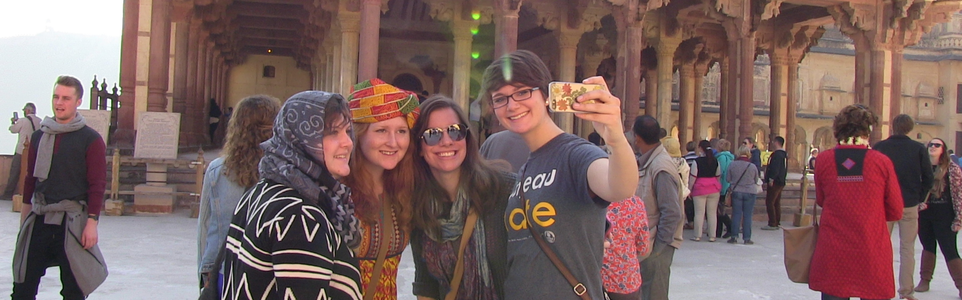 students abroad in India