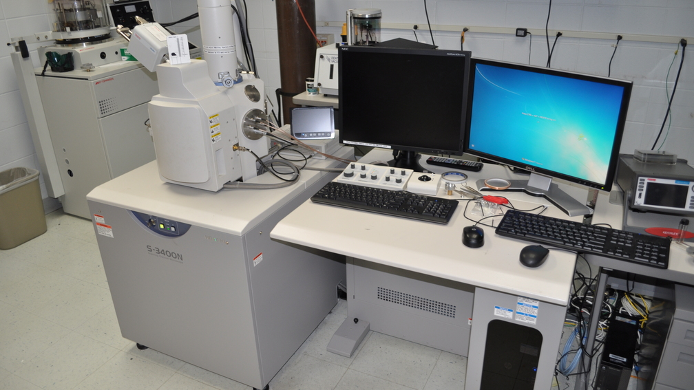 Scanning Electron Microscope with Energy Dispersive Spectroscopy (SEM-EDS)