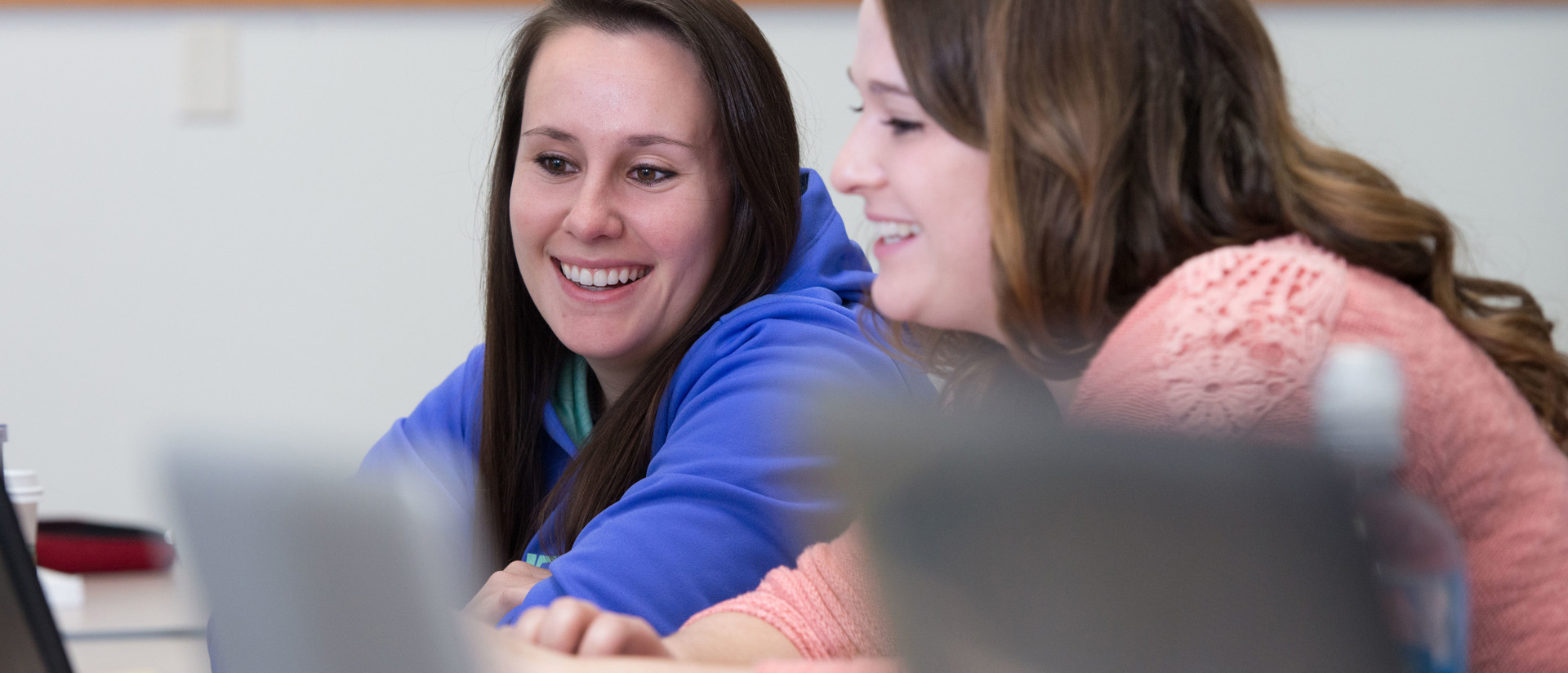 Students in UW-Eau Claire's BSN degree-completion program