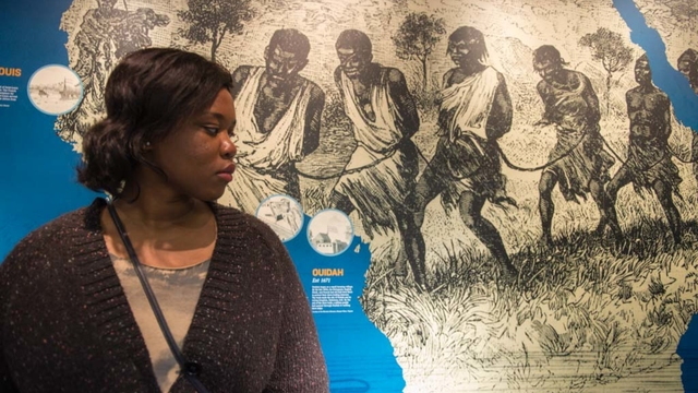 Student during Civil Rights Pilgrimage