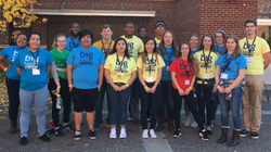 Blugold Beginnings students
