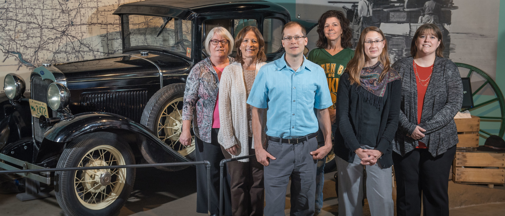 Alumni working at Chippewa Valley Museum