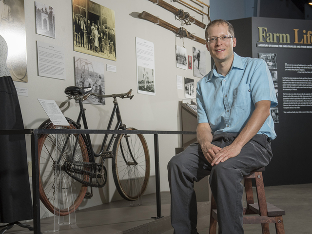 Jeremy Gragert at the Chippewa Valley Museum
