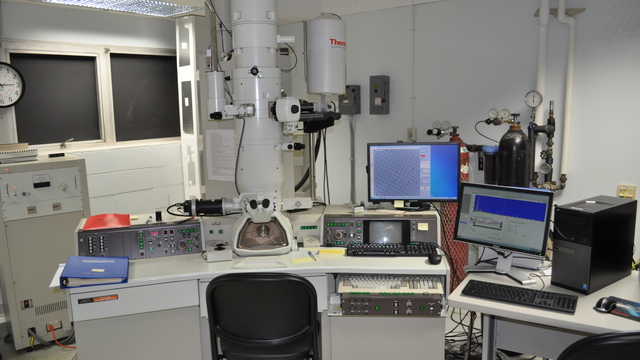 Transmission Electron Microscope with Energy Dispersive Spectroscopy (TEM-EDS)