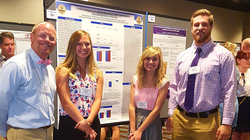 Doug Matthews, Meredith Watson, Whitney Hasenberg and Charlie Bakalars present their research in New Orleans
