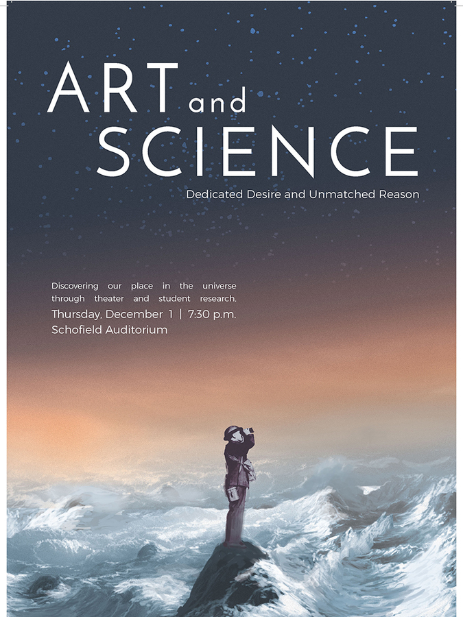 Art AND Science 2016 Event Poster