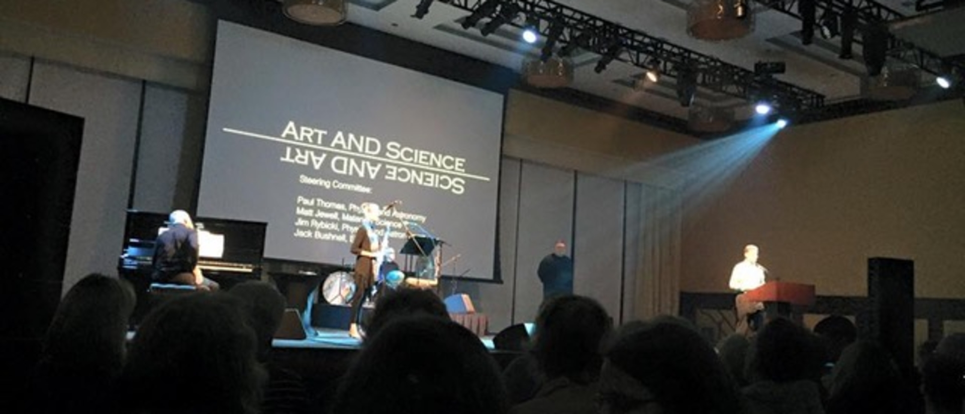 Art AND Science event
