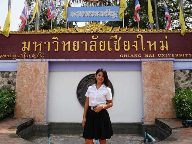 Student Sumya Paung in Chang Mai, Thailand