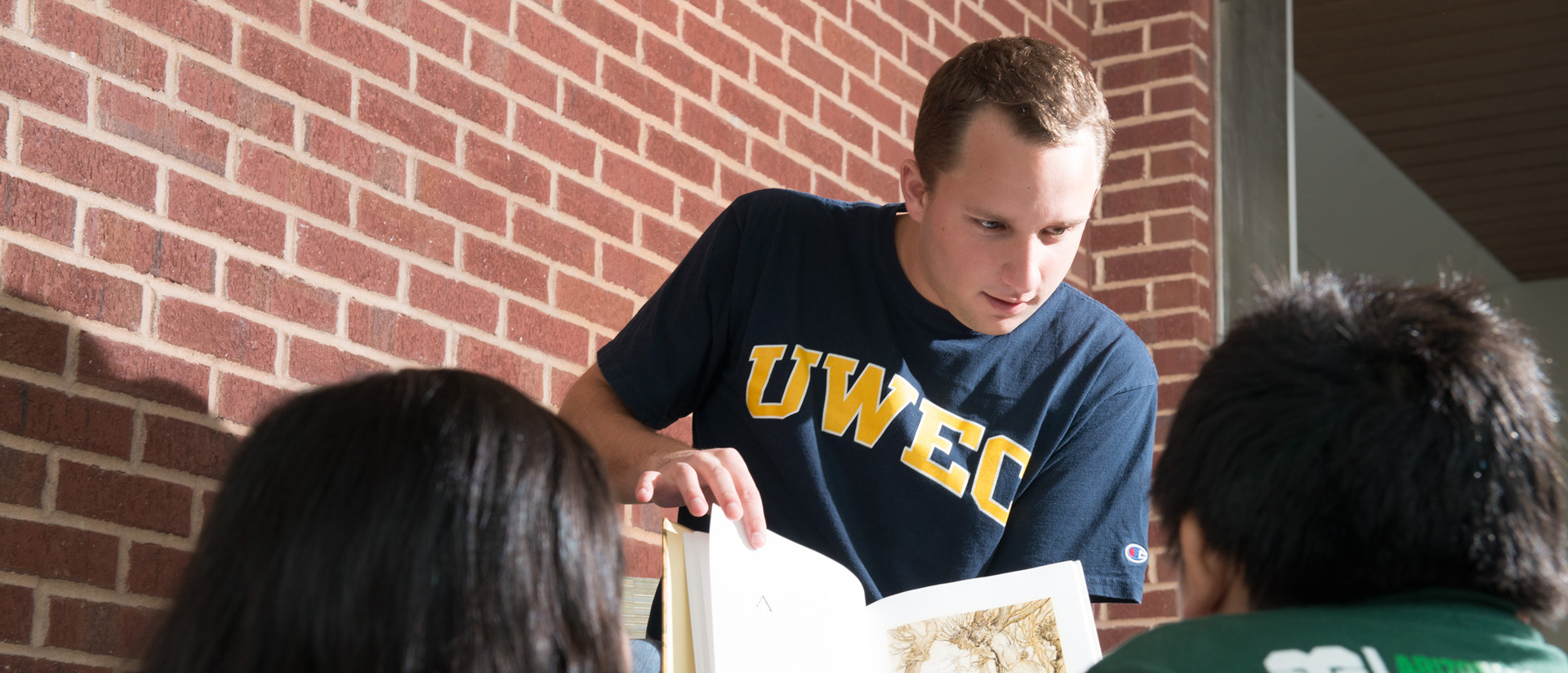 TEP students studying
