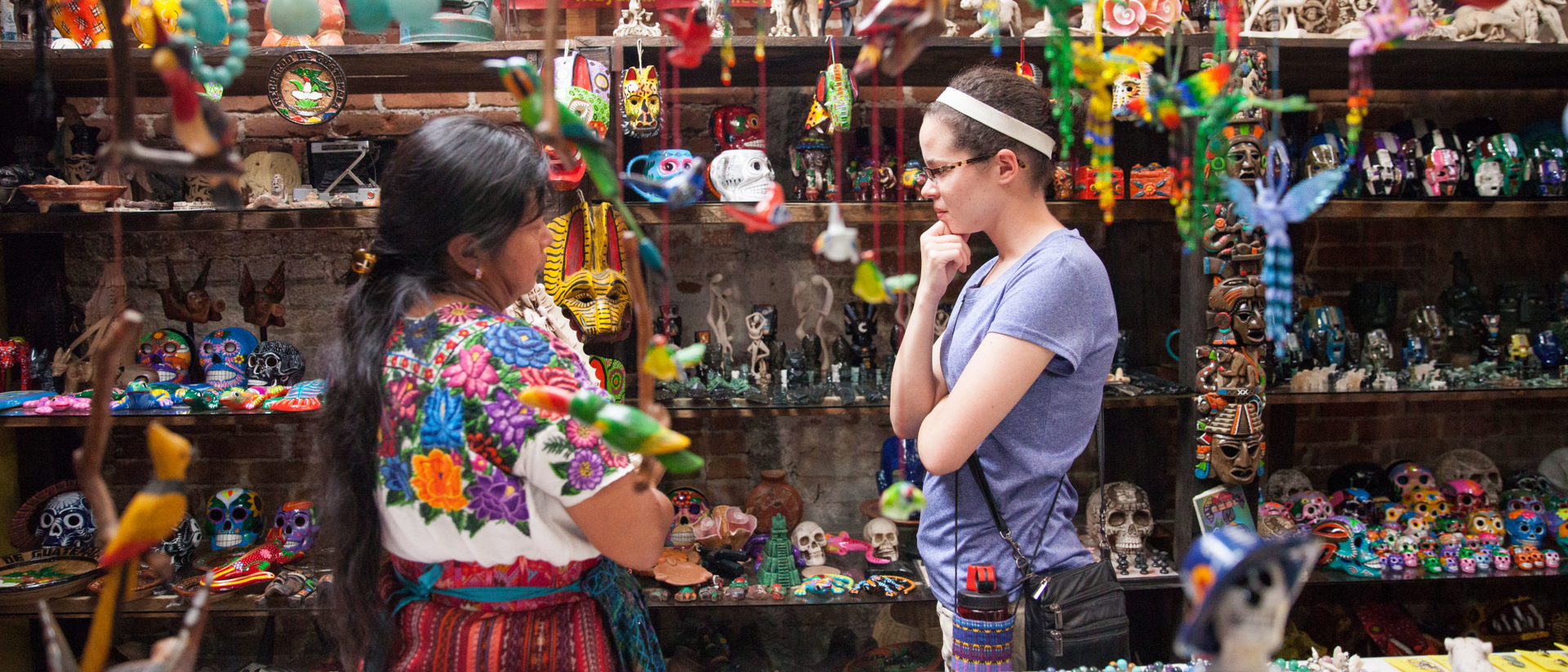 Student on the Guatemala Immersion trip