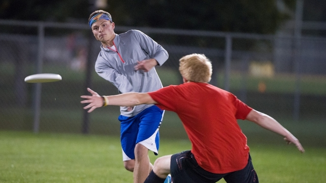 Intermurals ultimate frisbee