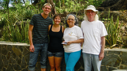2007 alum Eric Duwe in Costa Rica with fiancee and friends.