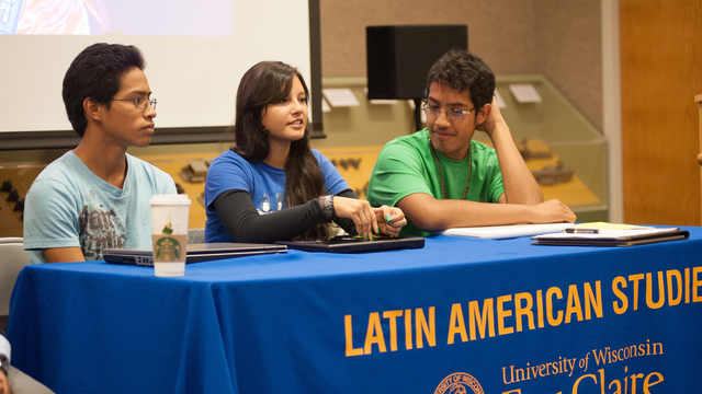 Students at Latin American Studies day