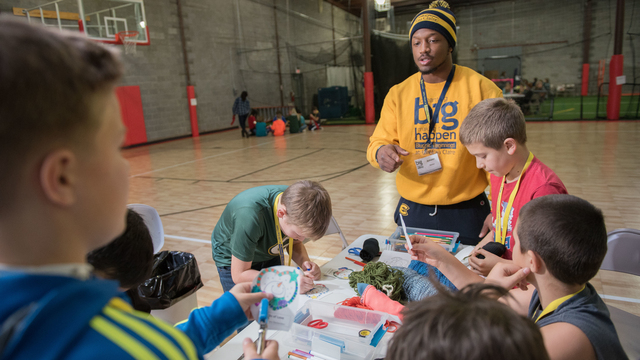 Blugold Beginnings citizenship and service event