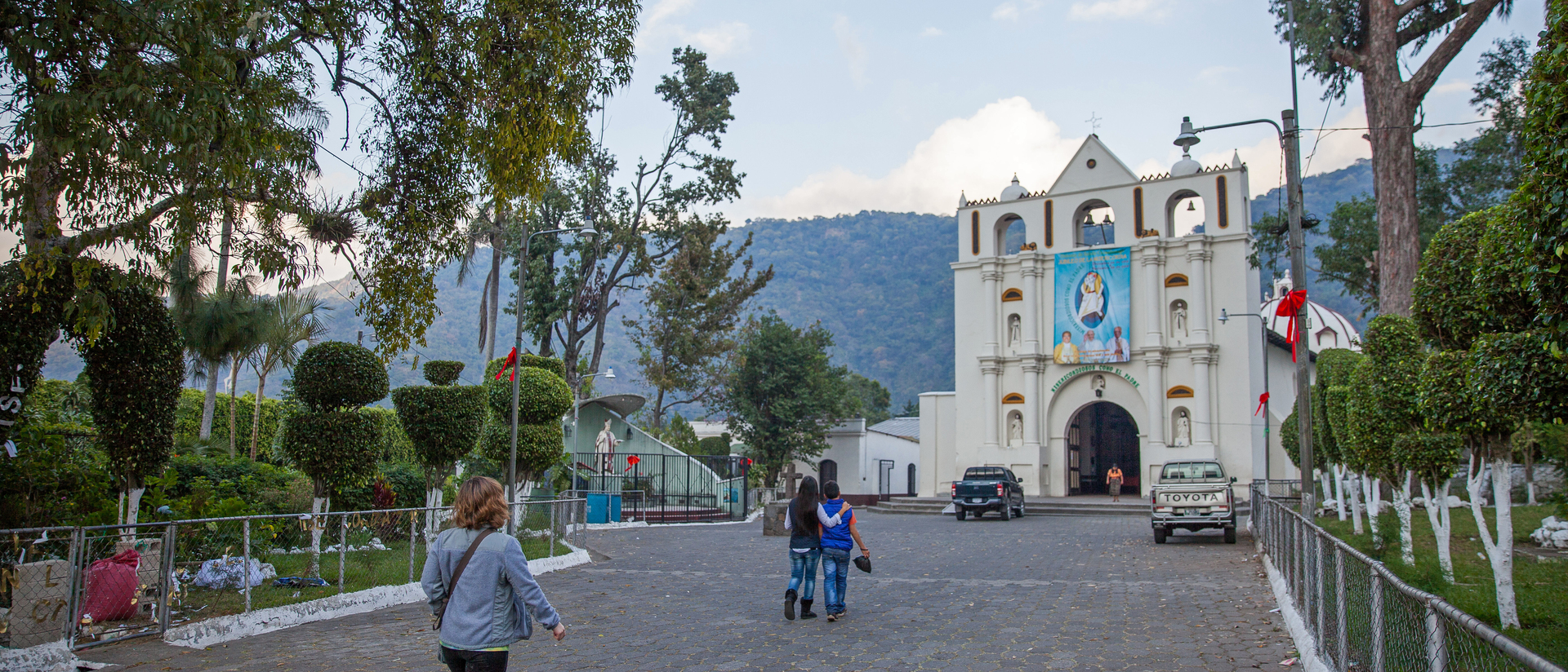 UW-Eau Claire student in Guatemala for cultural immersion experience.