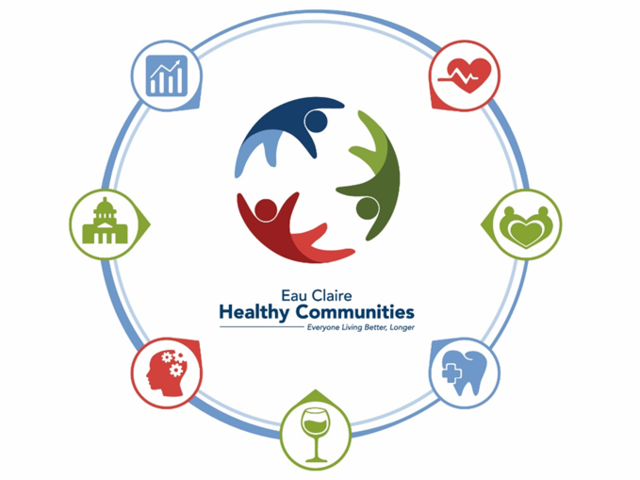 This is the logo for Eau Claire Healthy Communities.