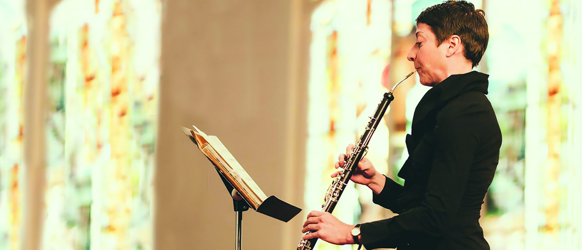 Dr. Christa Garvey, professor of music at UW-Eau Claire, is principal oboist with the Eau Claire Chamber Orchestra.