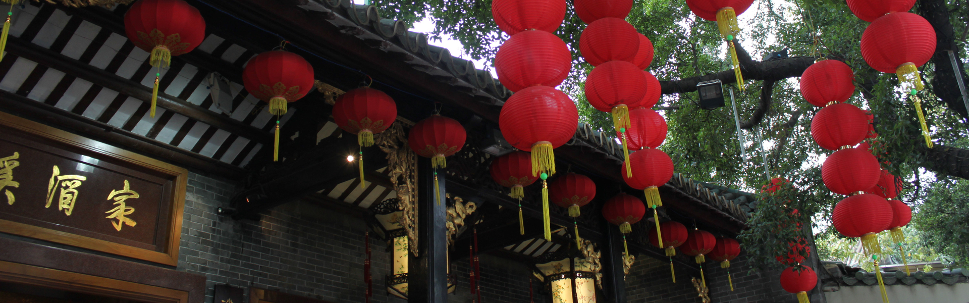 Paper Lanterns in China