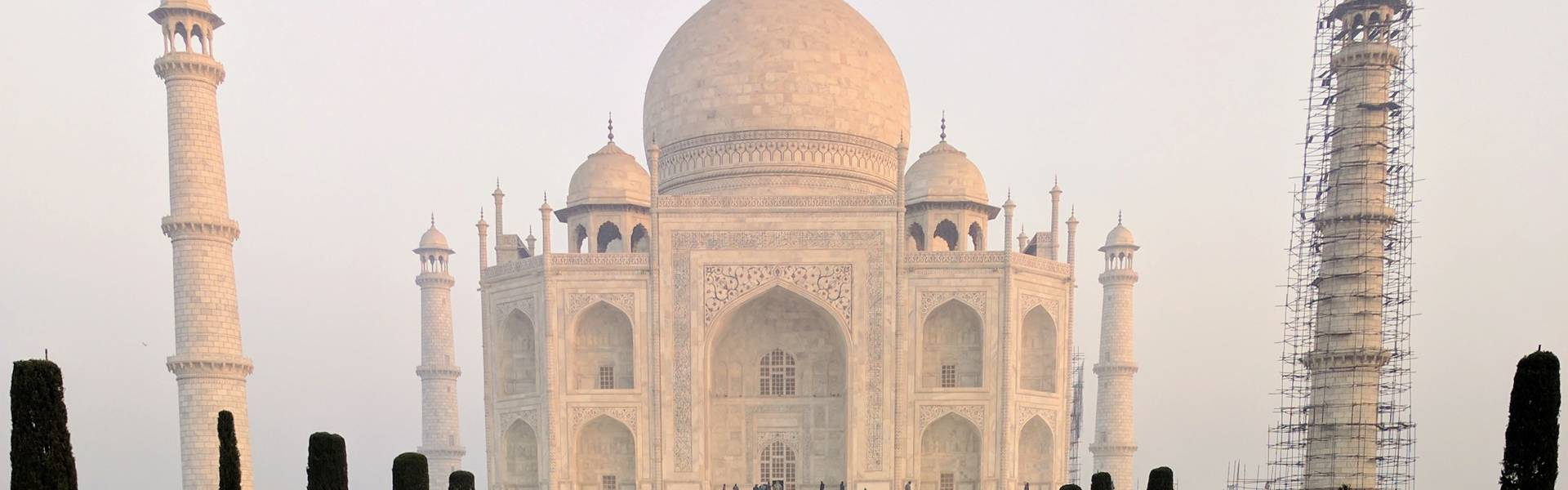 "Sunrise at the Taj Mahal, ""India Global Feminism Faculty-Led Immersion, Winterim 2017"
