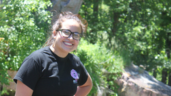 Savannah Rigert, AIS and social work major, intern at LCO Child Welfare.